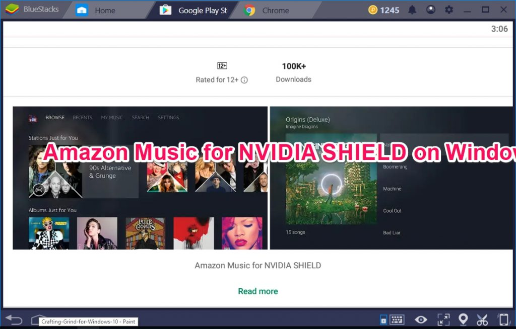 Amazon Music for NVIDIA SHIELD on Windows 10