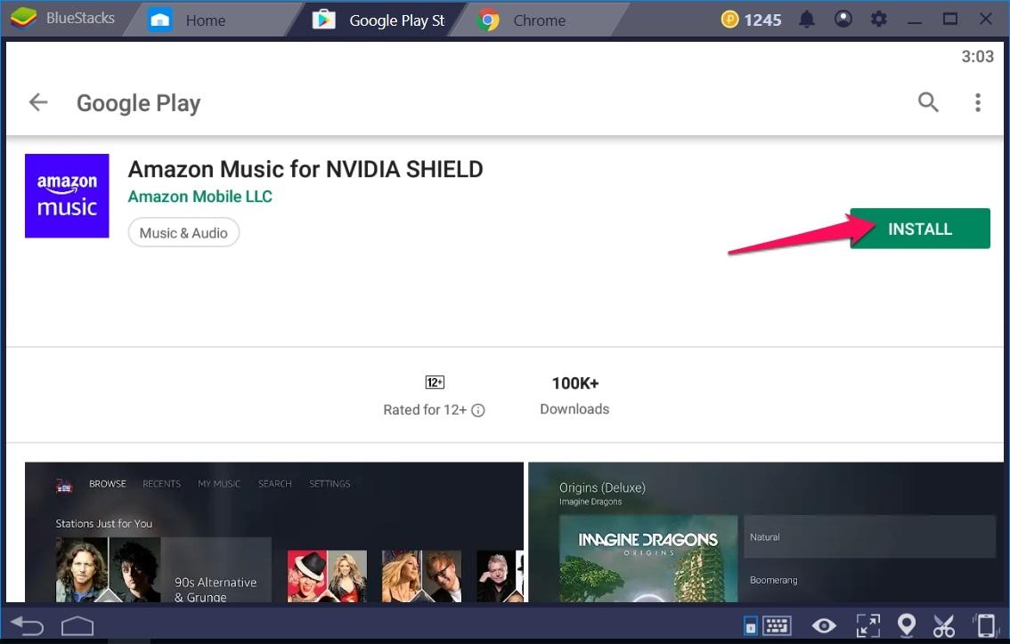 Amazon Music for NVIDIA SHIELD on Windows 10 - TechyForPC
