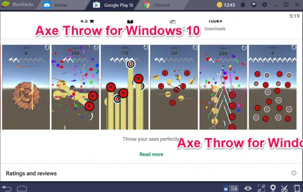 Axe Throw for Windows 10
