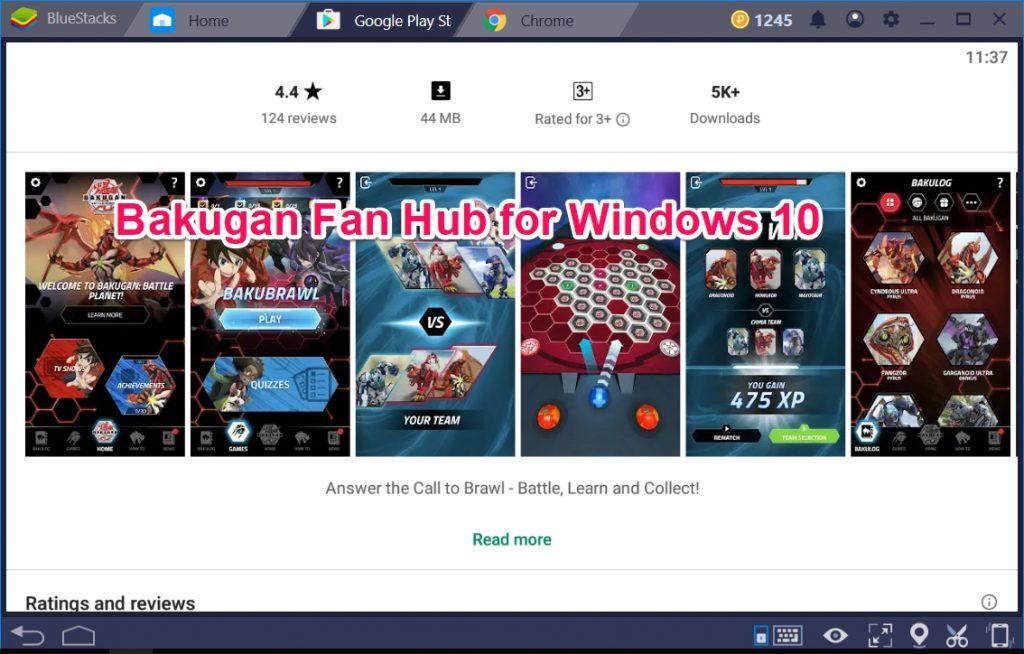 Bakugan Fan Hub for Windows 10
