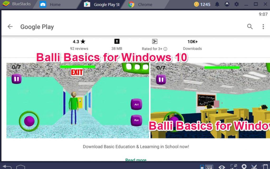Balli Basics for Windows 10