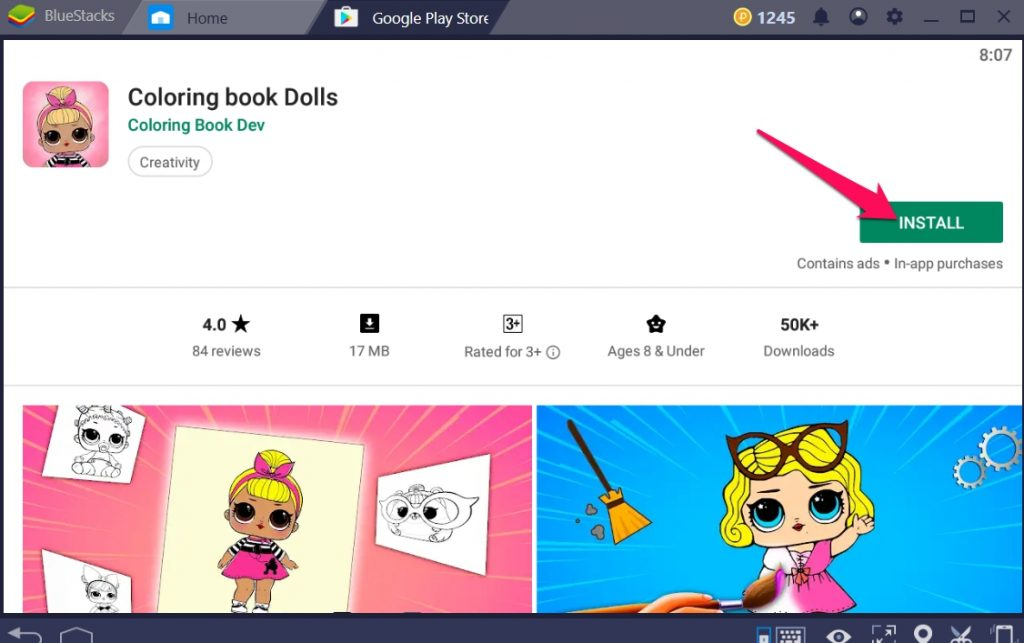 Coloring Book Dolls for Windows 10