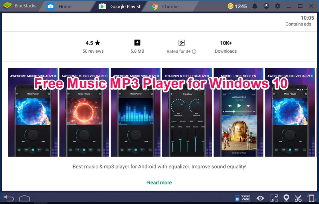 Free Music MP3 Player for Windows 10 - TechyForPC