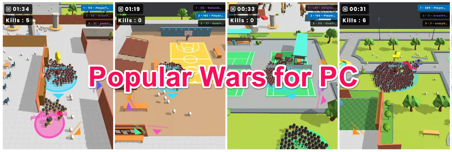 Popular Wars Windows 10 PC