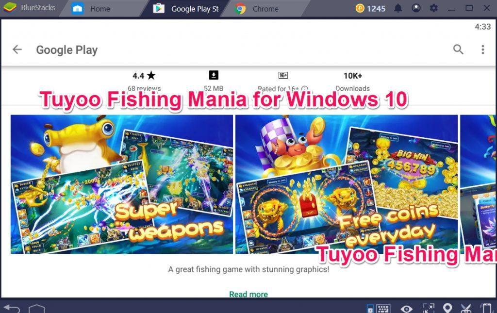 Tuyoo Fishing Mania for Windows 10