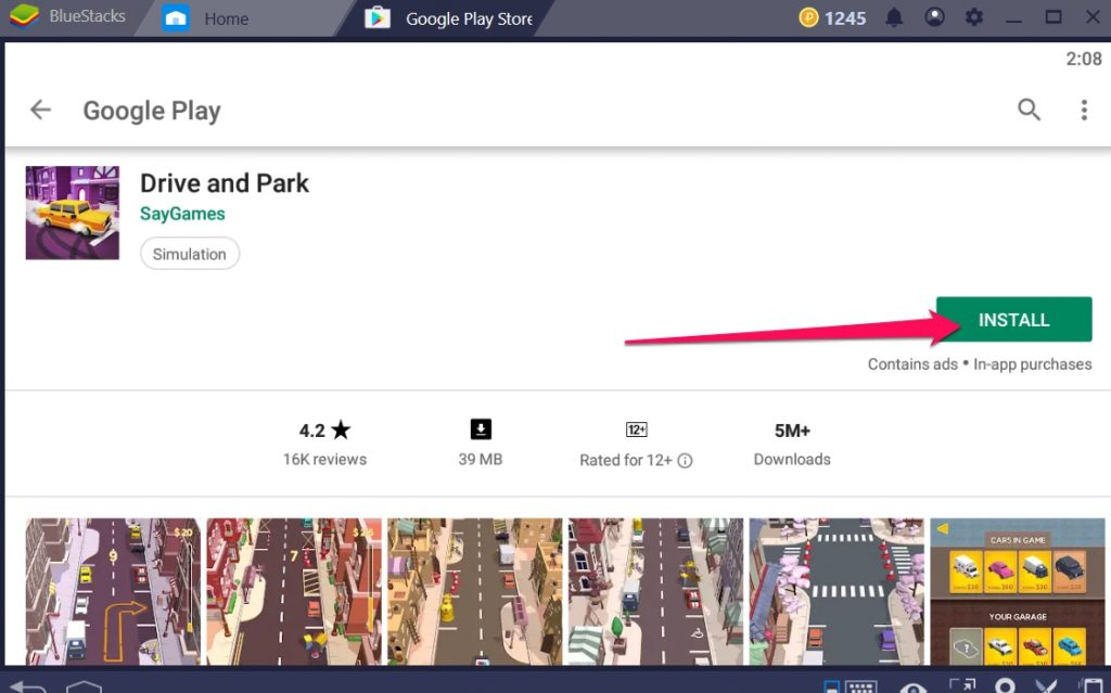 Drive and Park for pc