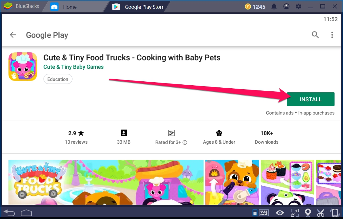 Cute & Tiny Food Trucks Cooking for Windows 10 - TechyForPC