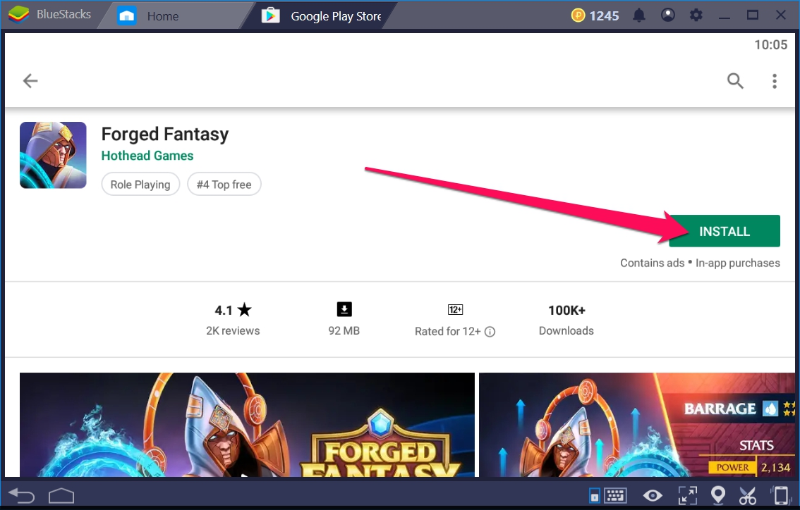 Forged Fantasy for Windows 10 enjoy on PC - TechyForPC