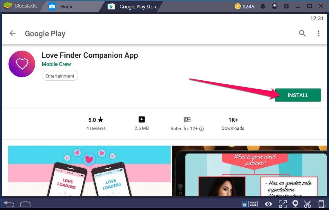 Love Finder Companion App for Windows 10 - TechyForPC