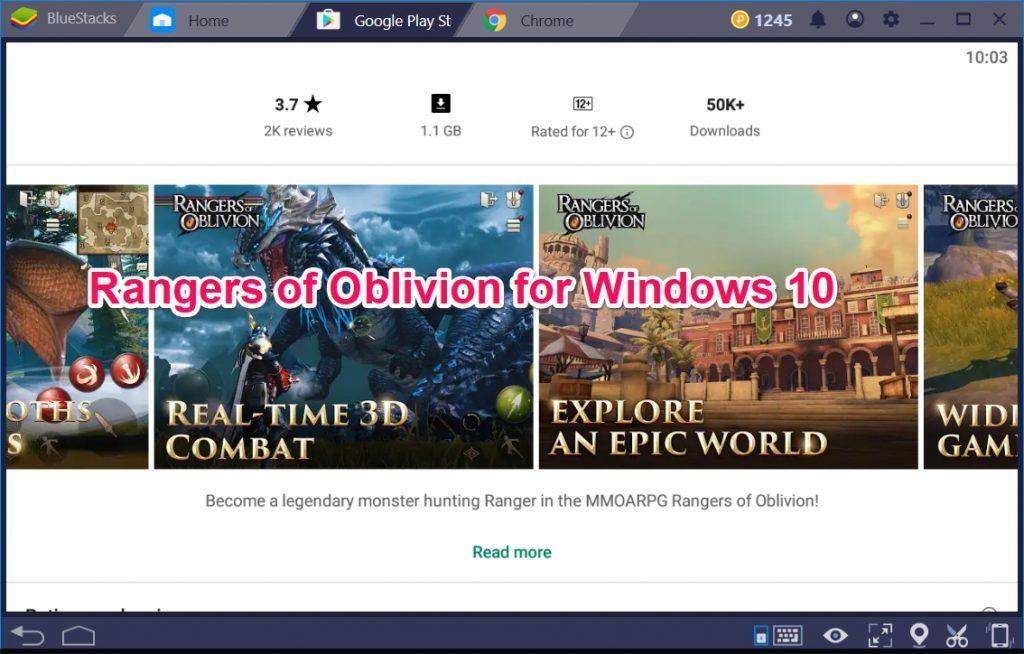 Rangers of Oblivion for Windows 10 - TechyForPC