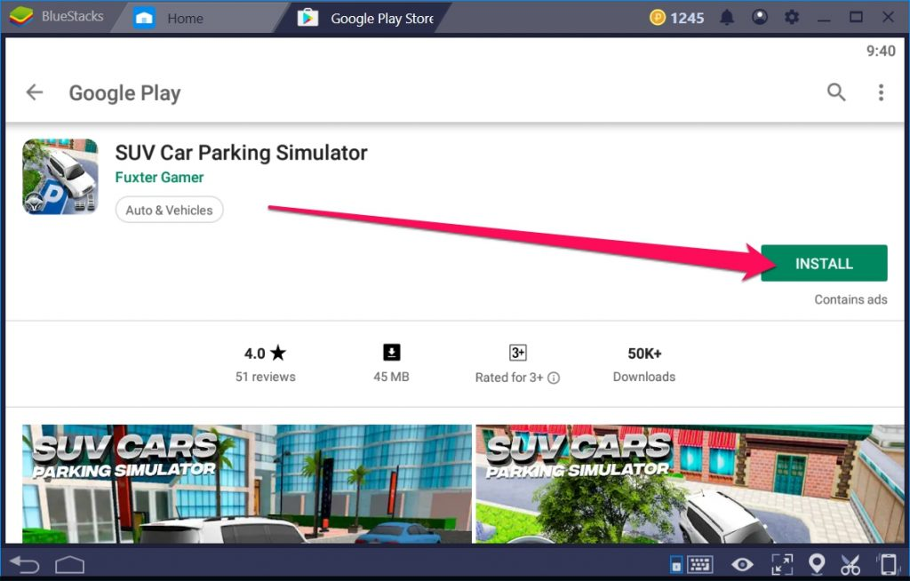 SUV Car Parking Simulator for Windows 10 - TechyForPC