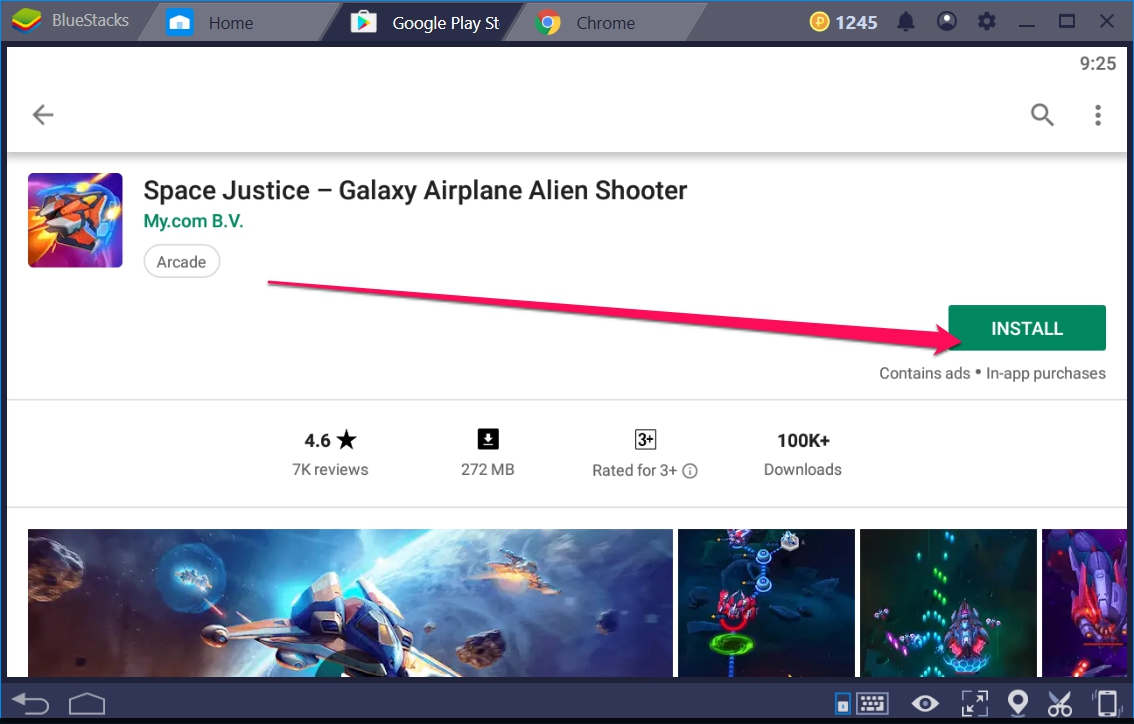 Space Justice Galaxy Airplane for Windows 10 - TechyForPC