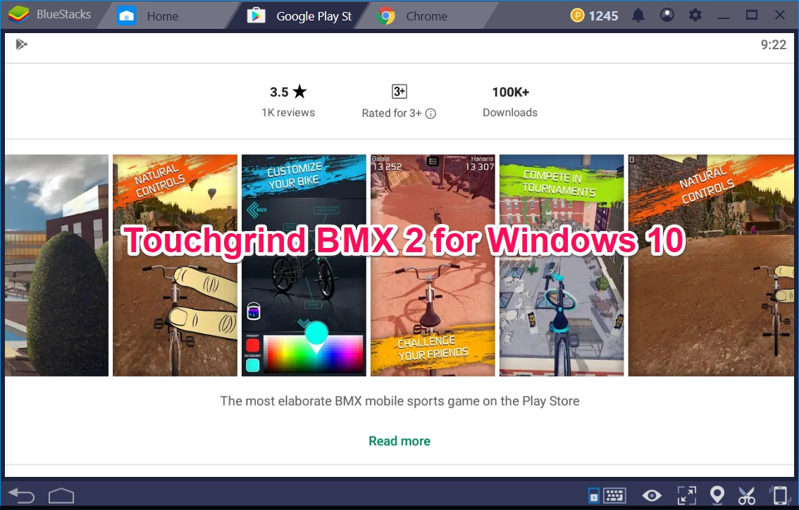 Touchgrind BMX 2 for Windows 10 now on a PC - TechyForPC