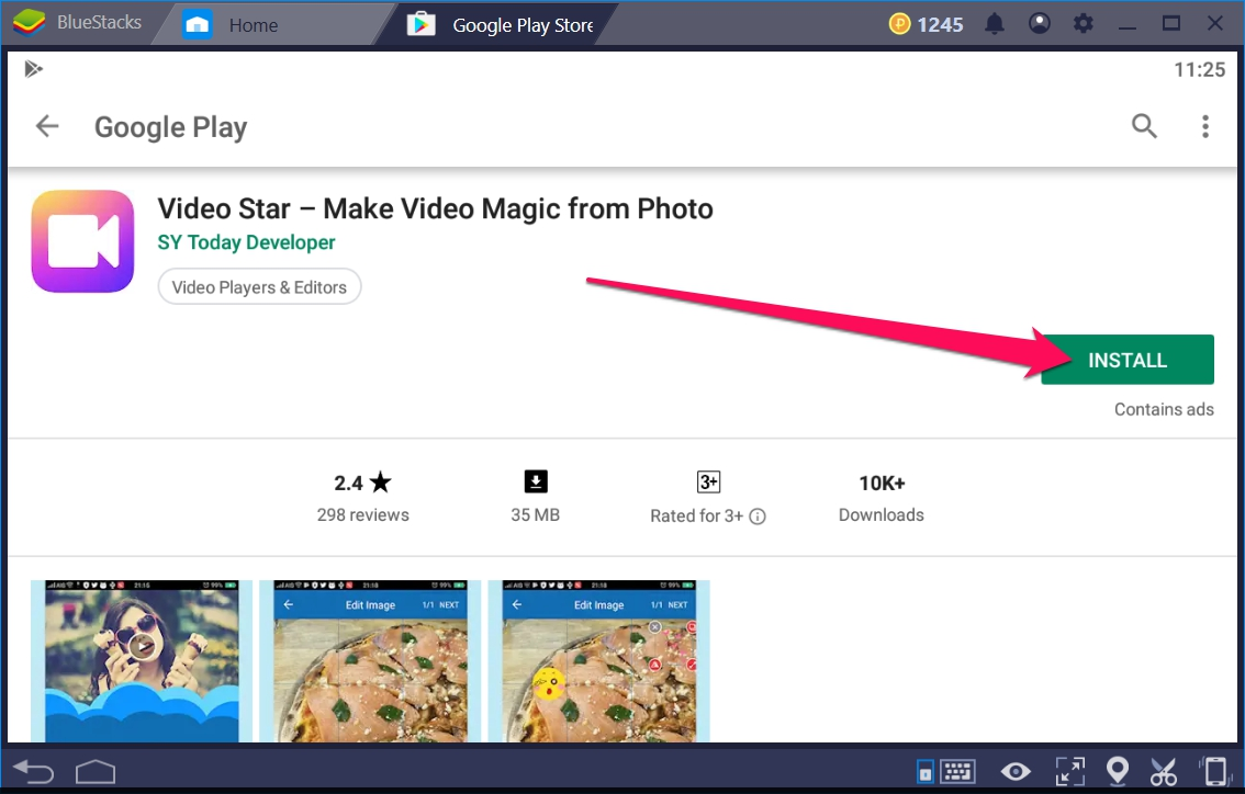 Video Star Make Video Magic for Windows 10 - TechyForPC