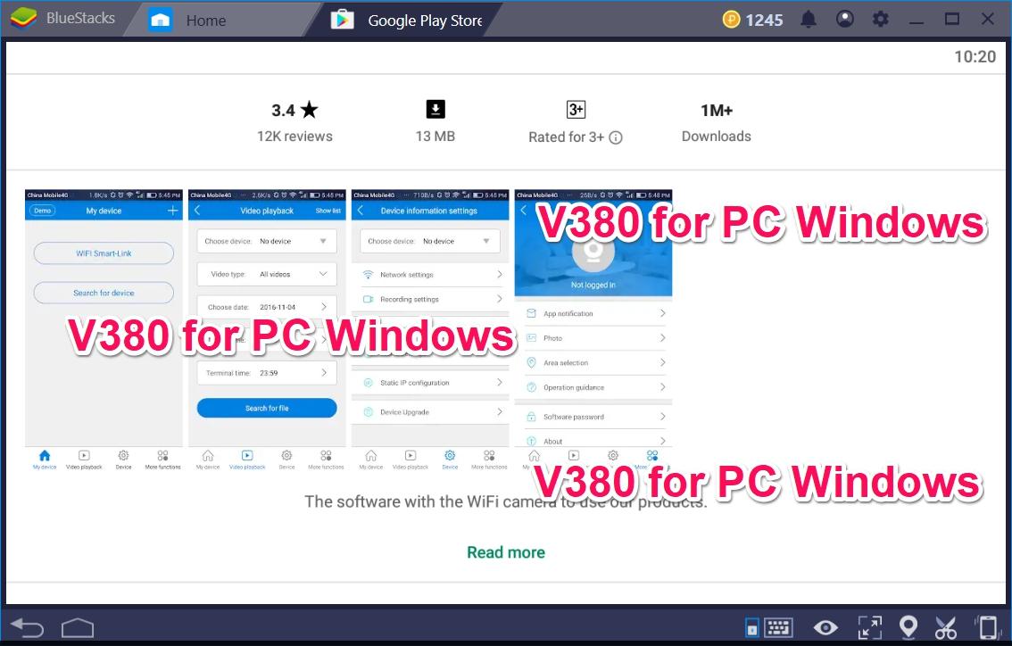 V380 for PC Windows 10/8/7/ XP Laptop and Desktop - TechyForPC