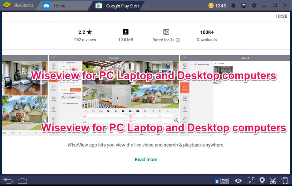 Wiseview for PC Laptop and Desktop computers