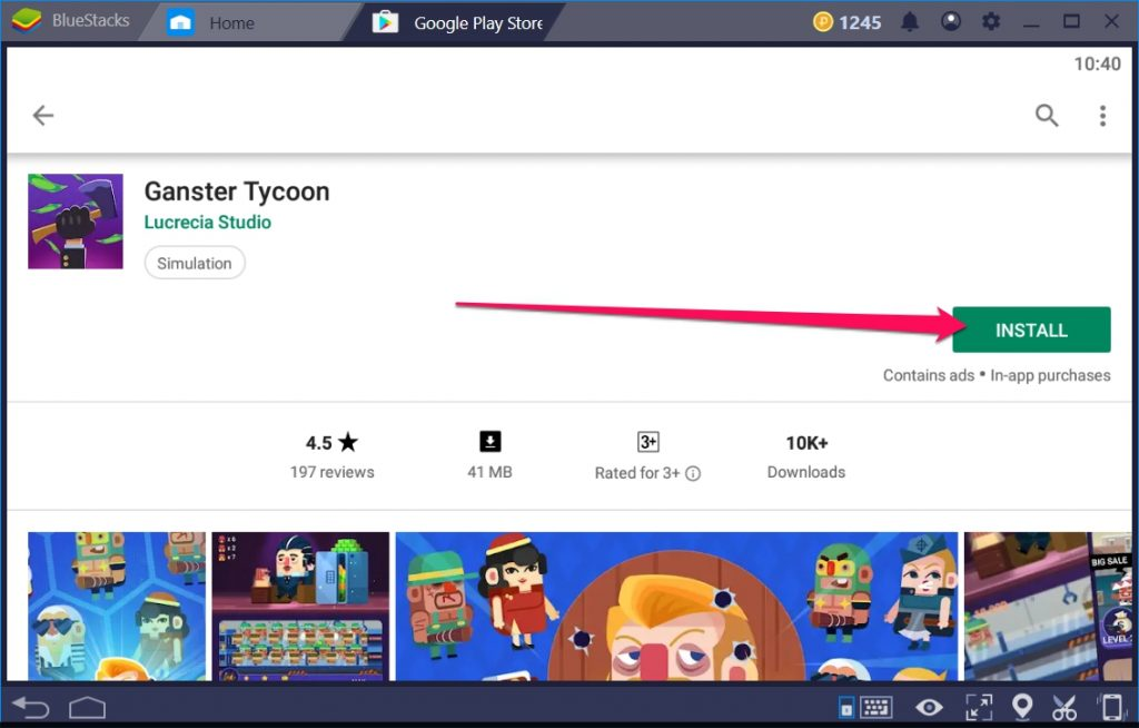 Ganster Tycoon for Windows 10 PC