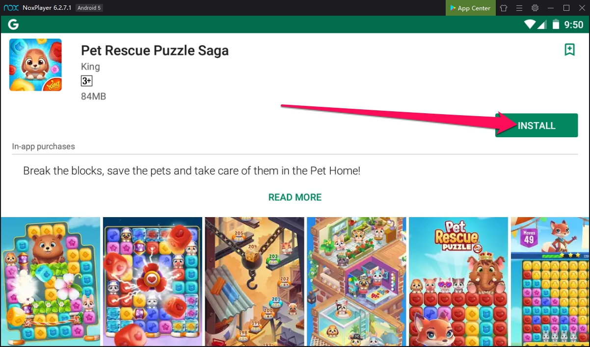 Pet Rescue Puzzle Saga for Windows 10 PC - TechyForPC