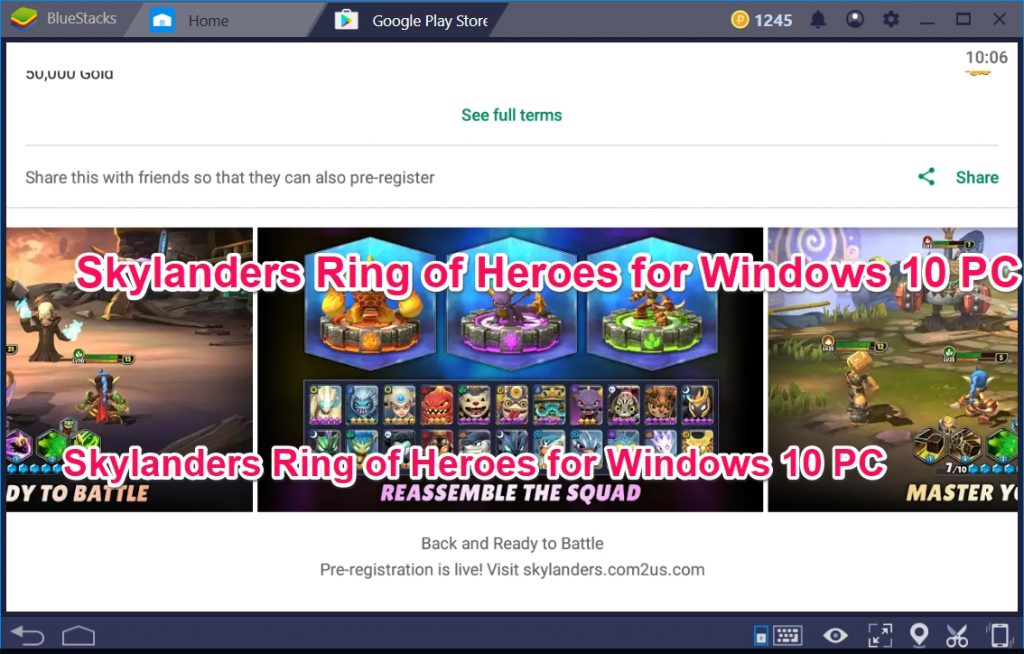 Skylanders Ring of Heroes for Windows 10 PC