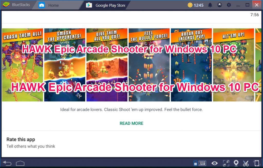 HAWK Epic Arcade Shooter for Windows 10 PC