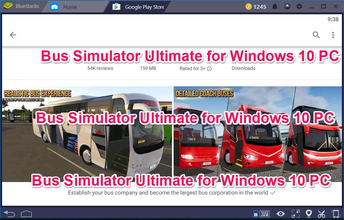 Bus Simulator Ultimate for Windows 10 PC - TechyForPC