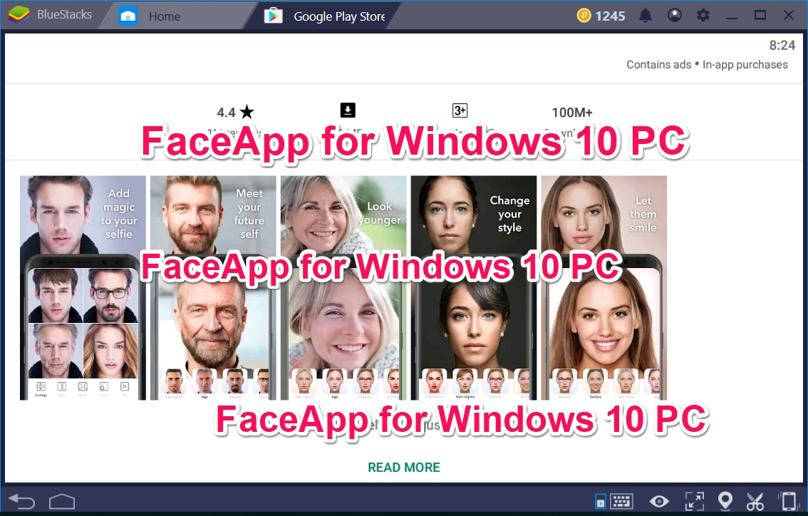 FaceApp for Windows 10 PC now on PC - TechyForPC