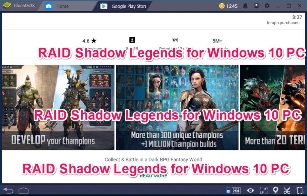 RAID Shadow Legends for Windows 10 PC
