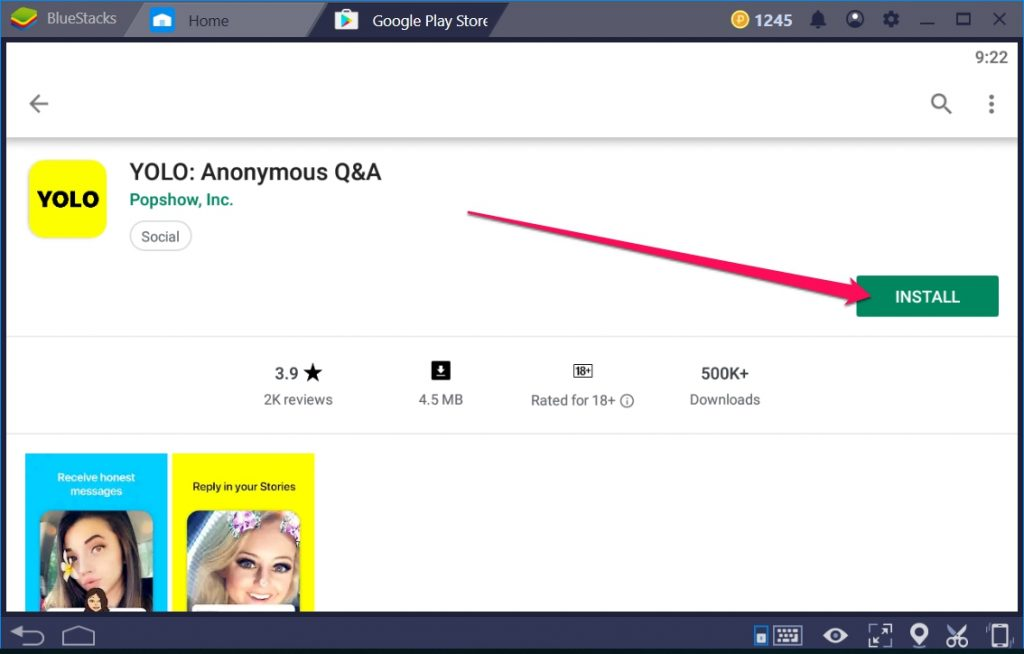 YOLO Anonymous Q&A for Windows 10 PC