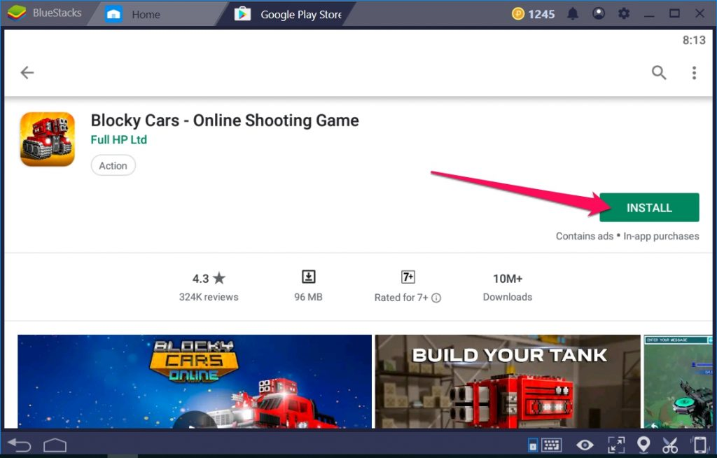Blocky Cars Online Shooting Game for Windows 10 PC