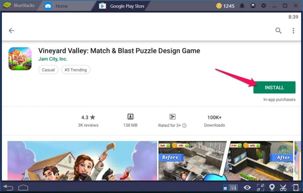 Vineyard Valley Match & Blast for Windows 10 PC