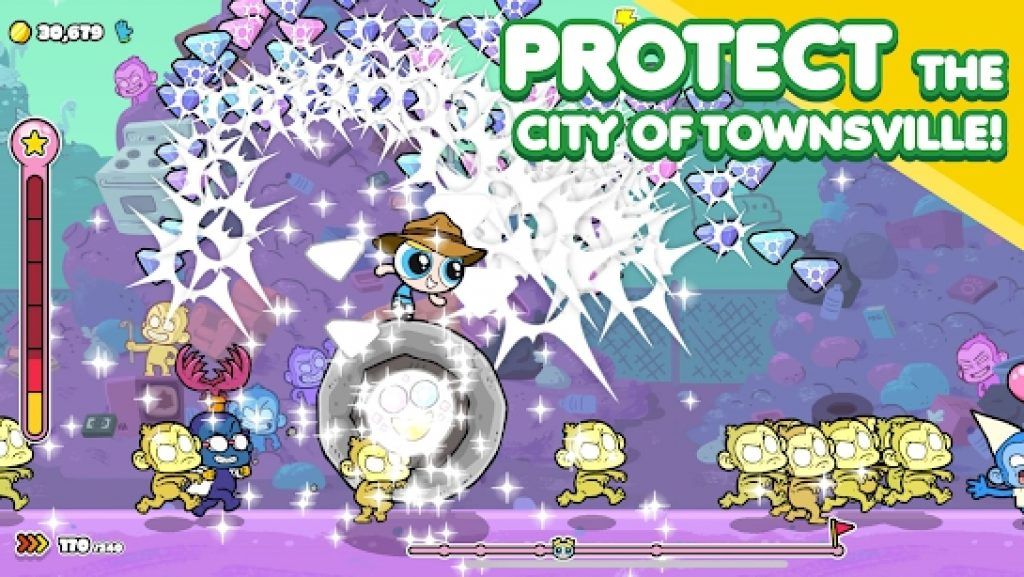 The Powerpuff Girls Monkey Mania for Windows 10 PC