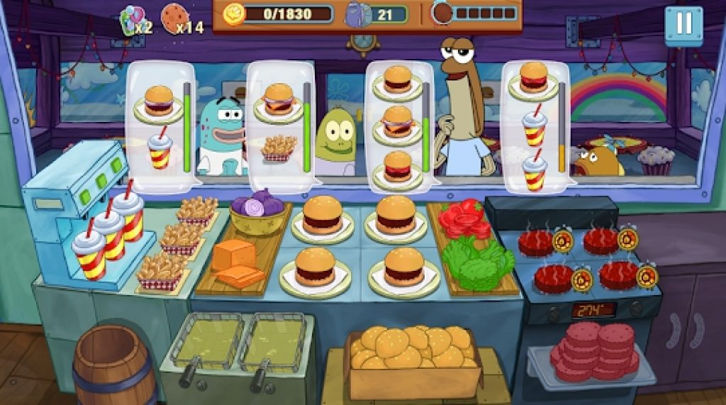 SpongeBob Krusty Cook Off game for Windows 10 PC