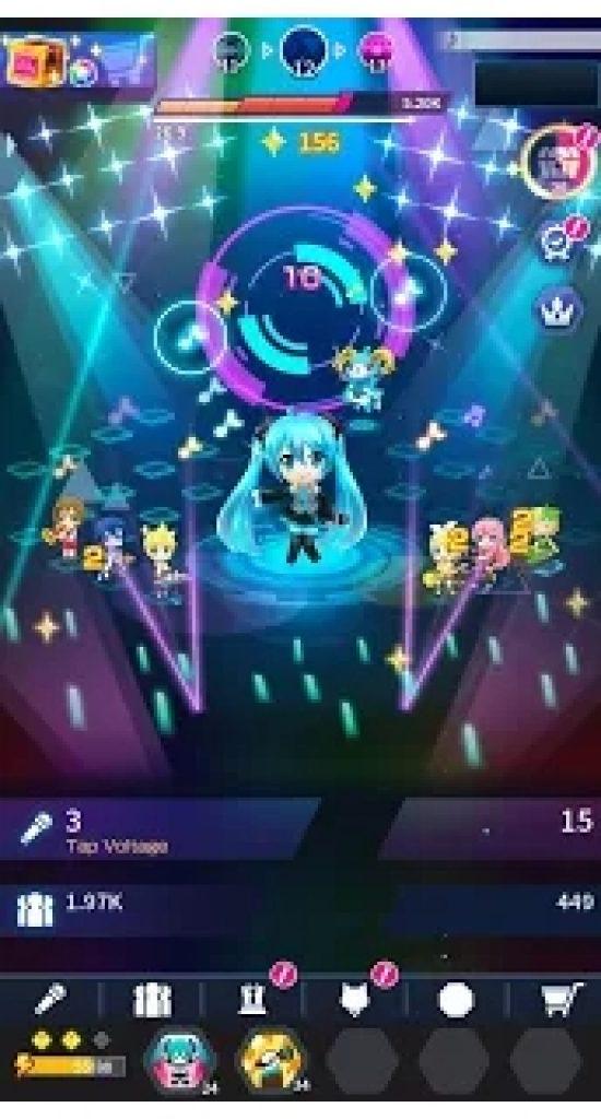 Hatsune Miku Tap Wonder Game forWindows 10 PC