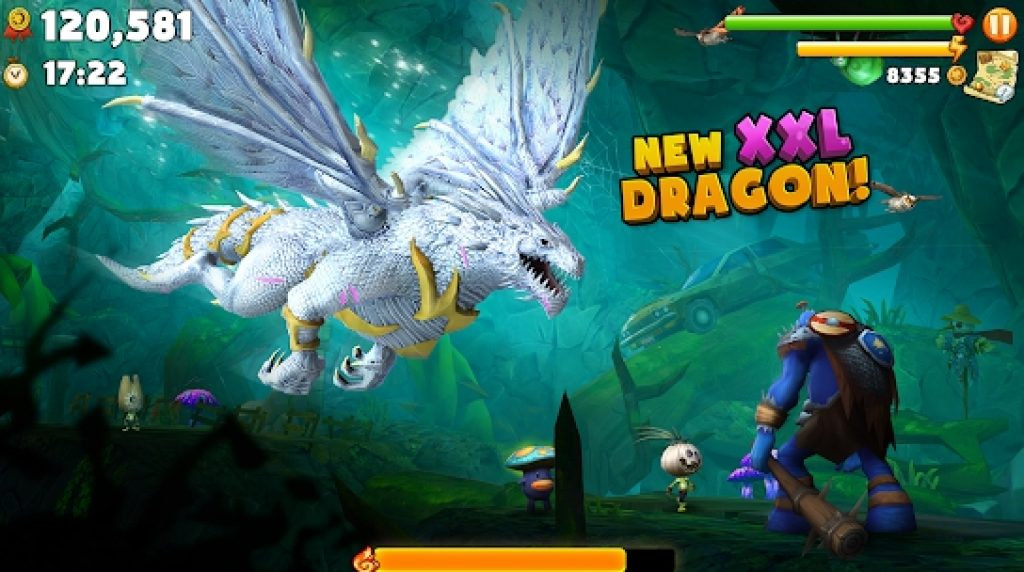 Hungry Dragon Arcade Game for Windows 10 PC