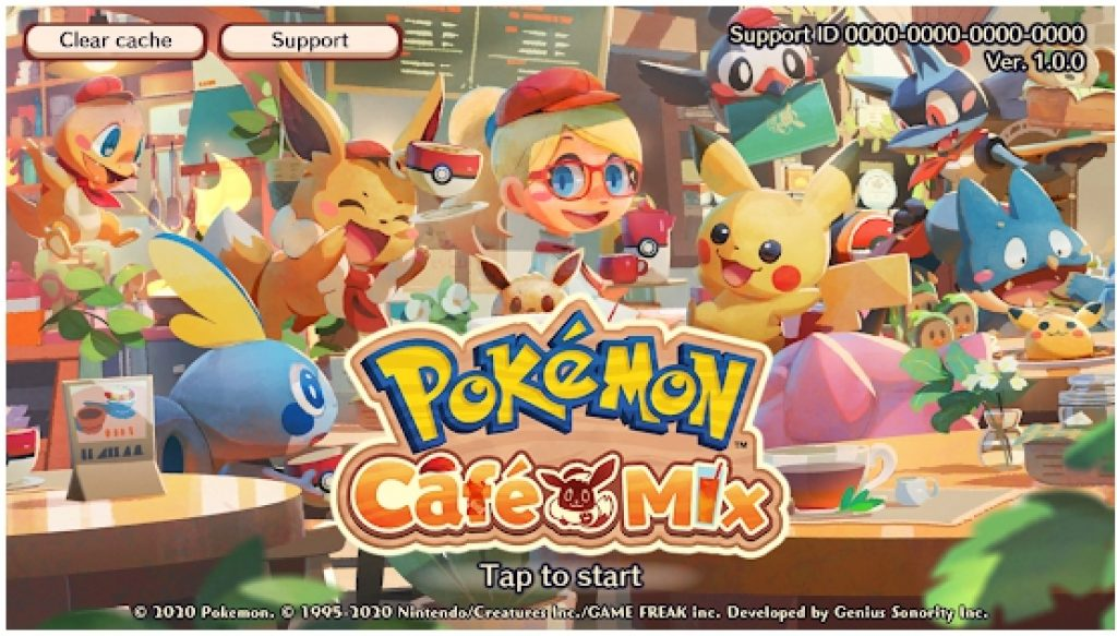 Pokemon Cafe Mix Puzzle Game for Windows 10 PC